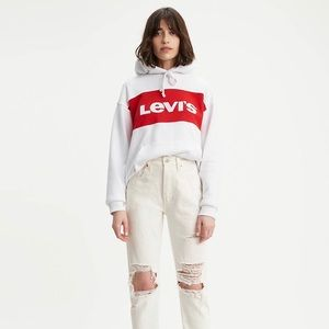 501® Original Cropped Jeans White